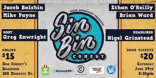 Sin Bin Comedy Show #42