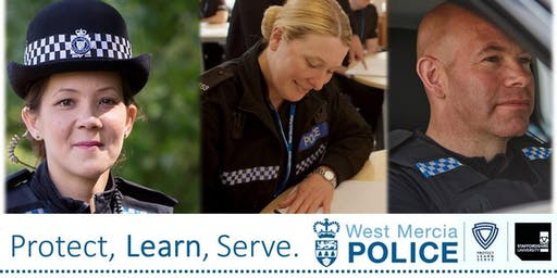 Student police officer recruitment open evening