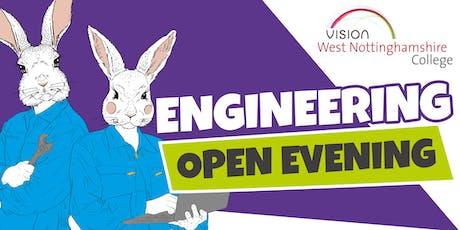 West Notts College - Engineering Open Evening tickets