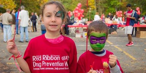 Red Ribbon Drug Prevention Walk