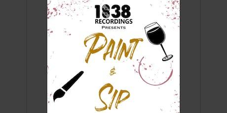 Paint & Sip tickets