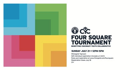 Rhinegeist Four Square Tournament Fundraiser tickets