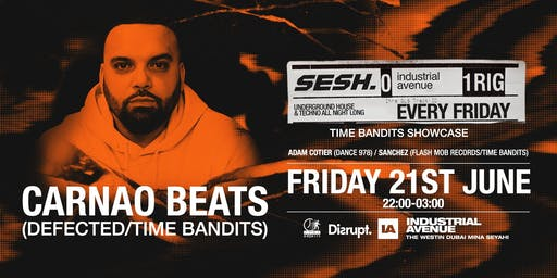 Sesh presents: Carnao Beats at Industrial Avenue