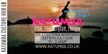 Rise,Reenergise,Renew Yoga Workshop - Katumba Wellbeing Fiesta tickets