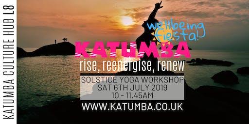 Rise,Reenergise,Renew Yoga Workshop - Katumba Wellbeing Fiesta