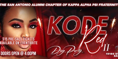 Kode Red II Day Party tickets