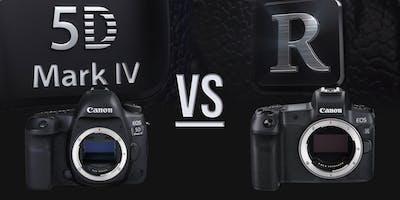 EOS 5D Mark IV vs EOS R
