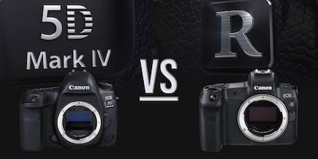 EOS 5D Mark IV vs EOS R  biglietti