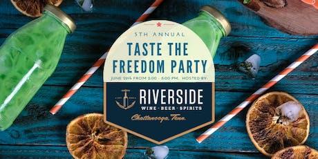 5th Annual Taste of Freedom tickets
