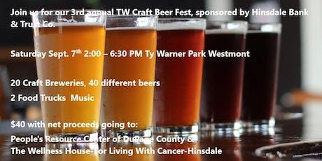 TW Craft Beer Fest tickets
