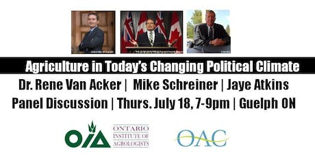 Panel Discussion:  Agriculture in a Changing Political Climate tickets