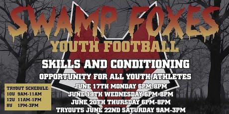 10u Swamp Fox Football Tryouts tickets