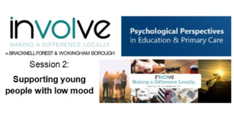 involve PPePCare Training - Supporting young people with low mood tickets