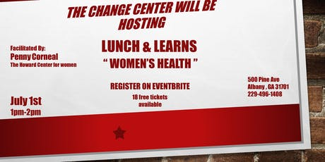 Lunch & Learn Women's Health tickets