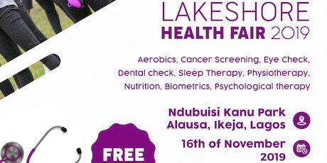 Lakeshore Health Fair 2019 tickets