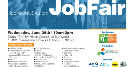 ** Orlando Job Fair - June 26th ** tickets