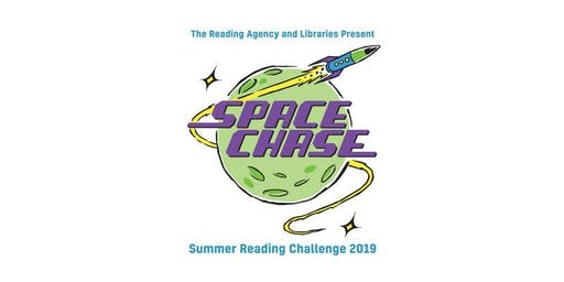 We're Going on a Space Hunt at Widdrington Library