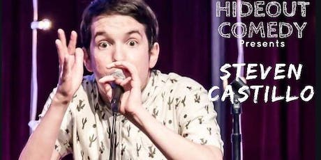 Hideout Comedy Presents SNL's Steven Castillo! tickets