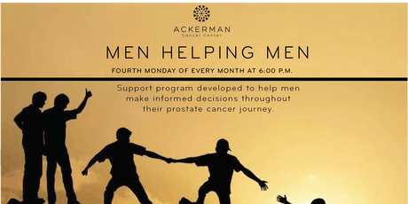 Men Helping Men (Prostate Cancer Support Group in Jacksonville) tickets