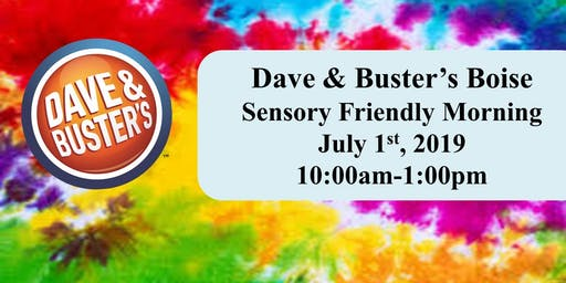 D&B Boise Sensory Morning - July 1, 2019