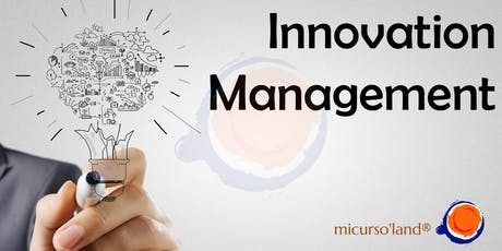 "Curso de Certificación ""Innovation Management"" boletos"