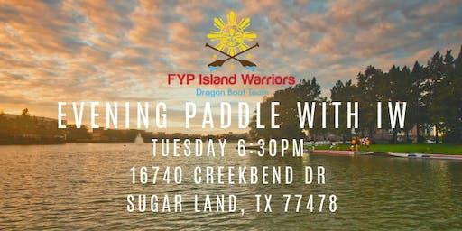 Jun 18 Practice with Island Warriors