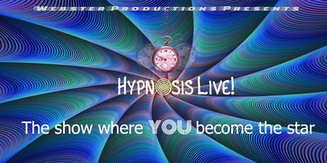 Hypnosis Live! tickets