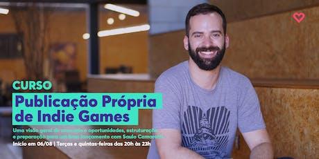 Curso Publicação Própria de Indie Games ingressos