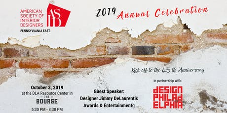 ASID PA EAST 2019 Annual Celebration tickets