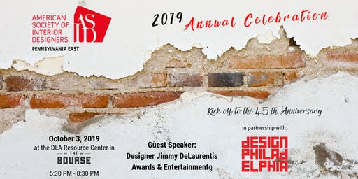 ASID PA EAST 2019 Annual Celebration