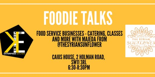 Foodie Talks - The Syrian Sunflower - Majeda Khouri