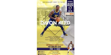 DAVON REED B-BALL CAMP - Session #1 (Grades 5-6) tickets