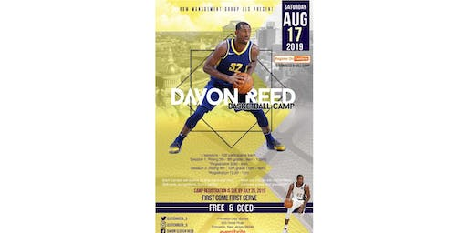 DAVON REED B-BALL CAMP - Session #1 (Grades 5-6)