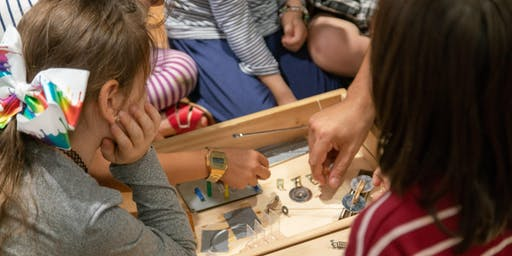 Exhibition Event: Sound workshop for children led by the Soundhoppers