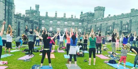 Movement + Mindfulness, Flow yoga in the Castle Yard (14+) tickets