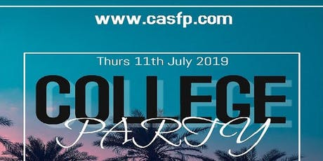 College Party Nottingham (Thurs-11th-July) tickets