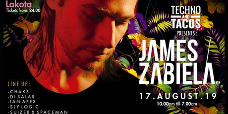 Techno & Tacos Present: James Zabiela tickets