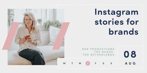 INSTAGRAM STORIES FOR BRANDS | The Hague | Netherlands