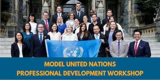 Model UN Professional Development Workshop @ Santa Margarita Catholic HS