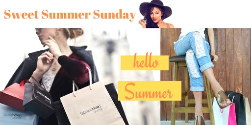 Summer Pop up Shop