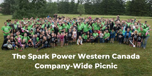 Spark Power Western Canada Company-Wide Picnic