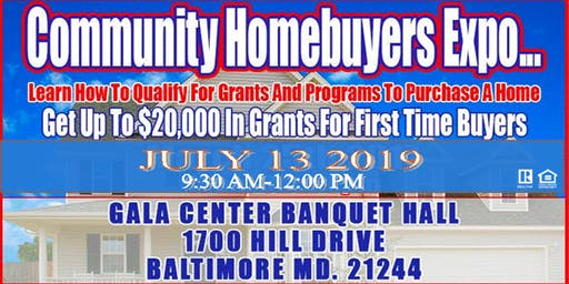 HOME BUYER WORKSHOP- , Baltimore County, Baltimore City, PG COUNTY,HOWARD COUNTY,ANNE ARUNDEL,