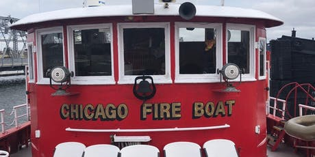 Atlas Obscura Society Chicago: Chicago fire Boat Tour tickets