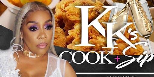 VH1 Love & Hip Hop Karen King Cook & Sip