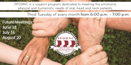 Heading Forward - SPOHNC (Oral, Head, and Neck Cancer Support Group) tickets