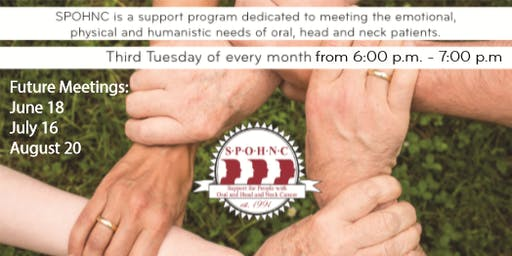 Heading Forward - SPOHNC (Oral, Head, and Neck Cancer Support Group)