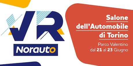Norauto VR Experience al Salone dell'Automobile  biglietti