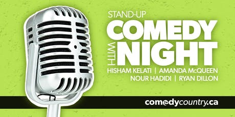 Comedy Country presents: STAND-UP COMEDY AT 555 tickets