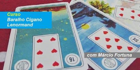 Márcio Fortuna - Curso Baralho Cigano – Sábado – Intensivo ingressos
