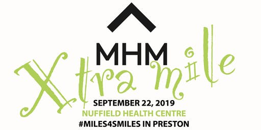 #mentalhealthmile PRESTON